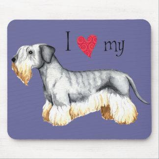 Amo mi Cesky Terrier Tapete De Ratón