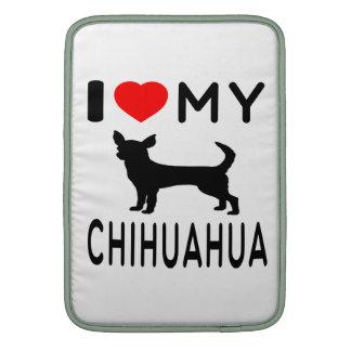Amo mi Chihuahua. Funda Macbook Air