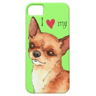 Amo mi chihuahua iPhone 5 fundas