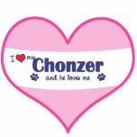 Amo mi Chonzer (el perro masculino) Esculturas Fotográficas