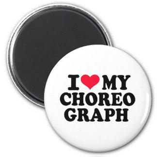 Amo mi Choreograph Imán Redondo 5 Cm