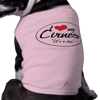 Amo mi Cirneco es un perro Camisetas De Perro