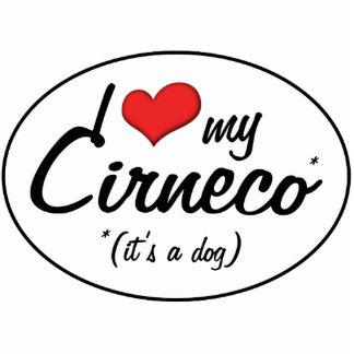 Amo mi Cirneco es un perro Esculturas Fotograficas