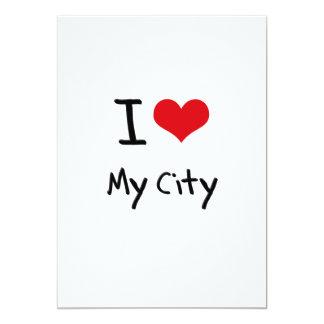 Amo mi ciudad comunicado personalizado