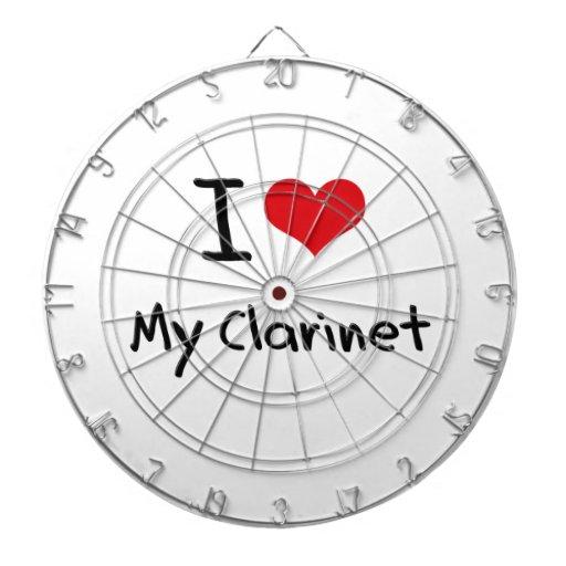 Amo mi Clarinet Tabla Dardos