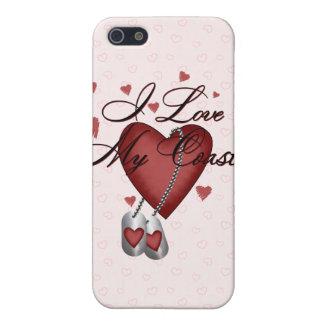 Amo mi Coastie iPhone 5 Coberturas