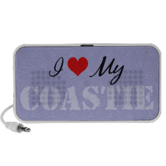 Amo mi Coastie iPhone Altavoz