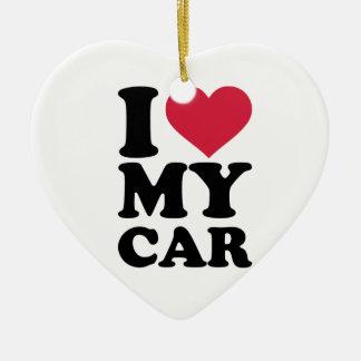 Amo mi coche ornamentos para reyes magos