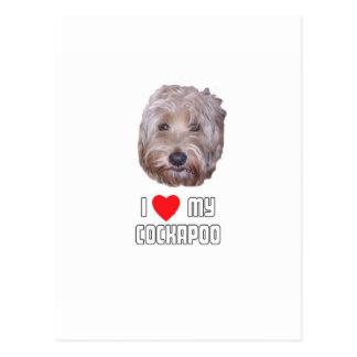 Amo mi Cockapoo Postales