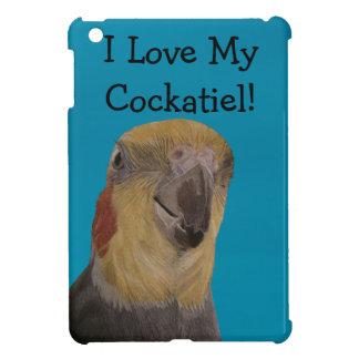 ¡Amo mi Cockatiel! Pájaro iPad Mini Coberturas