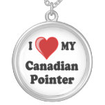 Amo mi collar canadiense del indicador