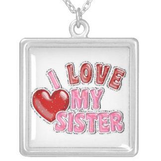 Amo mi collar de la hermana