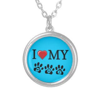 Amo mi collar del perro