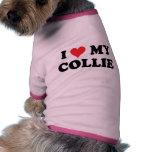 Amo mi collie camisas de perritos