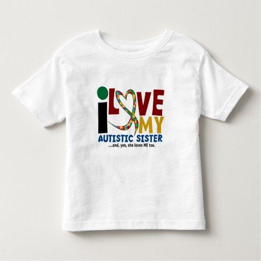 Amo mi CONCIENCIA autística del AUTISMO de la T-shirt