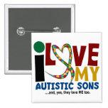 Amo mi CONCIENCIA autística del AUTISMO de los hij Pins