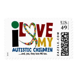 Amo mi CONCIENCIA autística del AUTISMO de los Sellos