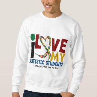 Amo mi CONCIENCIA autística del AUTISMO de los Sudadera Con Capucha