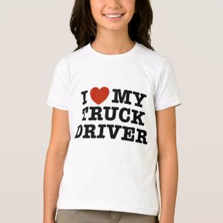 Amo mi conductor de camión playera
