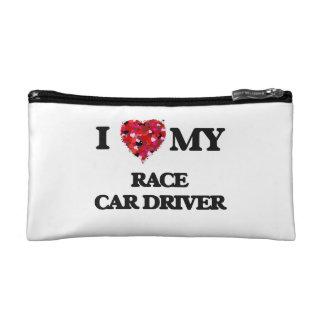 Amo mi conductor de coche de carreras