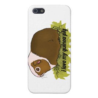 Amo mi conejillo de Indias iPhone 5 Carcasas