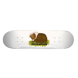 Amo mi conejillo de Indias Tabla De Skate