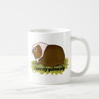 Amo mi conejillo de Indias Taza De Café