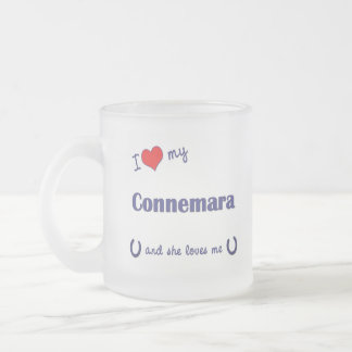 Amo mi Connemara el potro femenino Taza