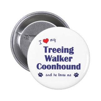 Amo mi Coonhound del caminante de Treeing (el perr Pins