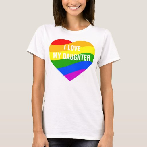 Amo mi corazón de los colores del arco iris de la playera