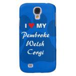 Amo mi Corgi Pawprint Galés del Pembroke