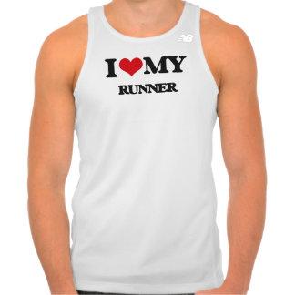 Amo mi corredor camiseta