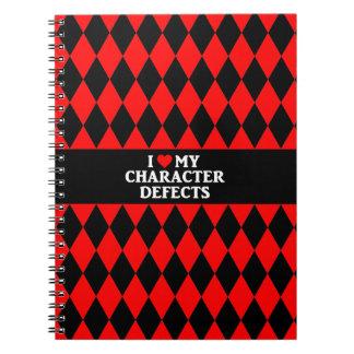 AMO MI cuaderno de los DEFECTOS de CARÁCTER