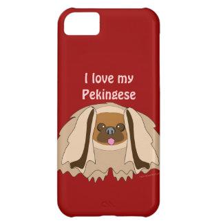Amo mi cubierta de encargo del iphone 5 del perro
