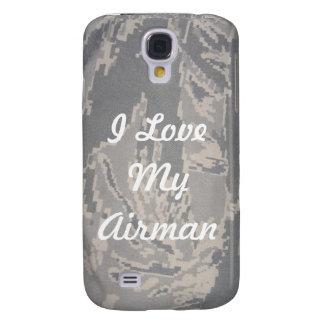 Amo mi cubierta de Iphone 3 del aviador Funda Para Galaxy S4