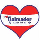 Amo mi Dalmador (el perro masculino) Escultura Fotográfica