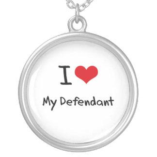 Amo mi demandado collar personalizado