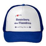 Amo mi DES Flandres (los perros múltiples) de Bouv Gorro De Camionero