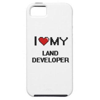 Amo mi desarrollador de la tierra iPhone 5 Case-Mate cobertura