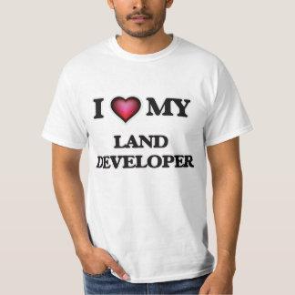 Amo mi desarrollador de la tierra playera