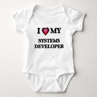 Amo mi desarrollador de los sistemas body para bebé