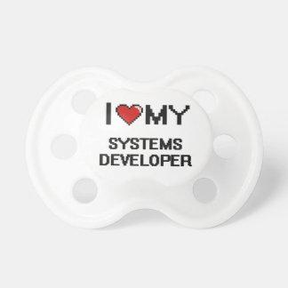Amo mi desarrollador de los sistemas chupetes de bebé