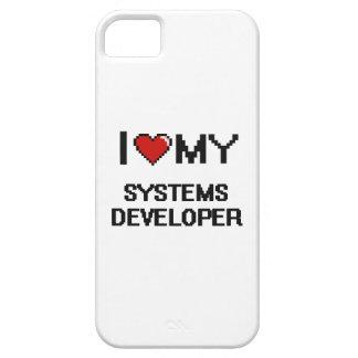 Amo mi desarrollador de los sistemas iPhone 5 carcasas