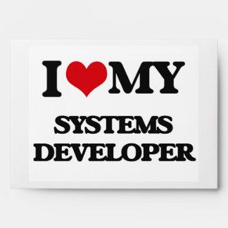 Amo mi desarrollador de los sistemas sobres