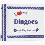Amo mi Dingoes (los perros múltiples)