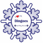 Amo mi Dingoes (los perros múltiples) Esculturas Fotograficas