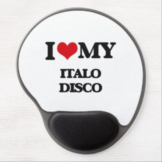 Amo mi DISCO de ITALO Alfombrilla Gel