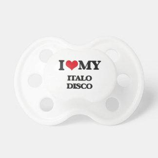 Amo mi DISCO de ITALO Chupetes De Bebé