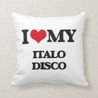 Amo mi DISCO de ITALO Almohadas