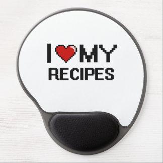 Amo mi diseño de Digitaces de las recetas Alfombrilla Con Gel
